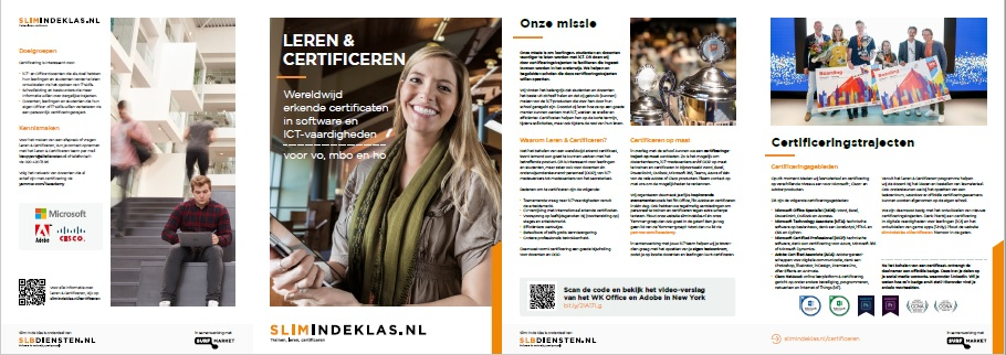 Leren en Certificeren folder 2019-2020